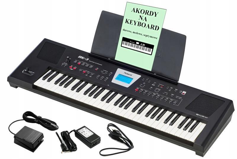 ROLAND BK-3 Keyboard-syntezator +Pedał +Podręcznik