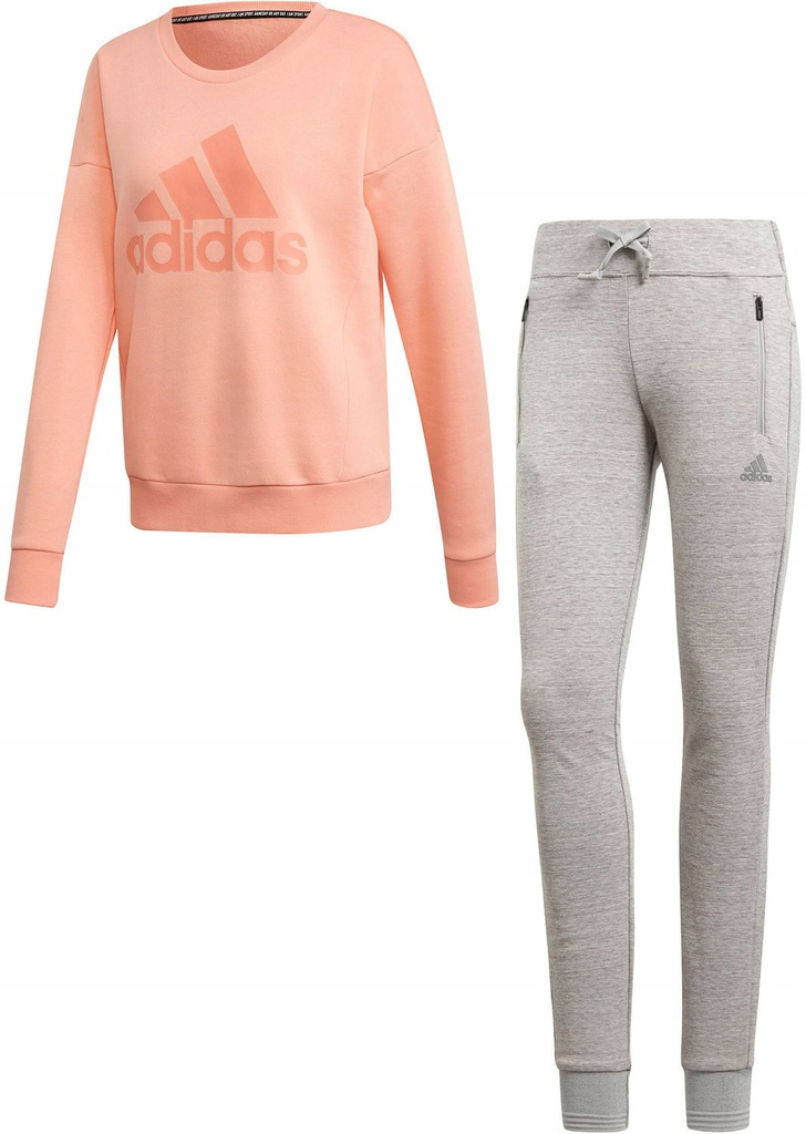 DRES SPORTOWY KOMPLET MUST HAVES + ID ADIDAS XS
