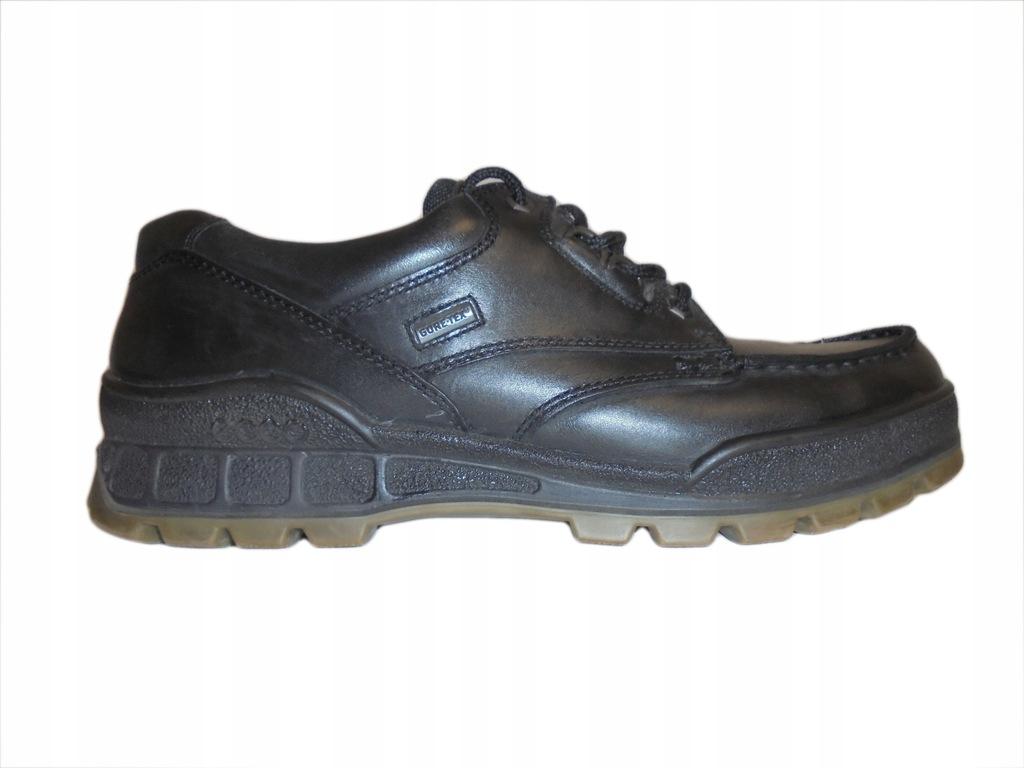 Skórzane buty Ecco Track z Gore-tex. Rozmiar 45.