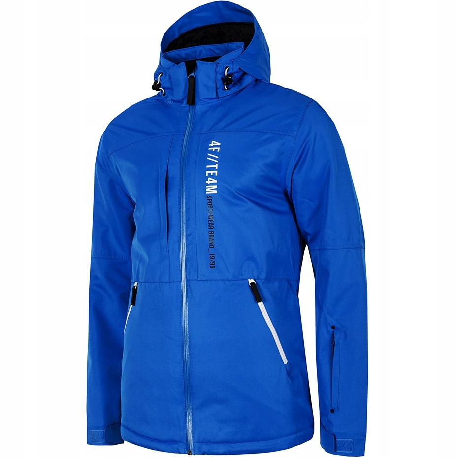 Kurtka narciarska męska 4F niebieska H4Z19 KUMN073