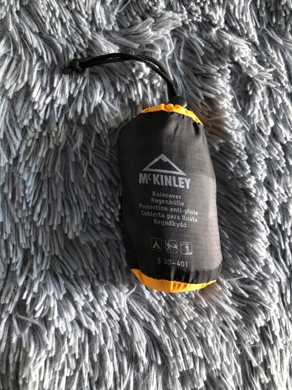 Pokrowiec przeciwdeszczowy na plecak McKinley