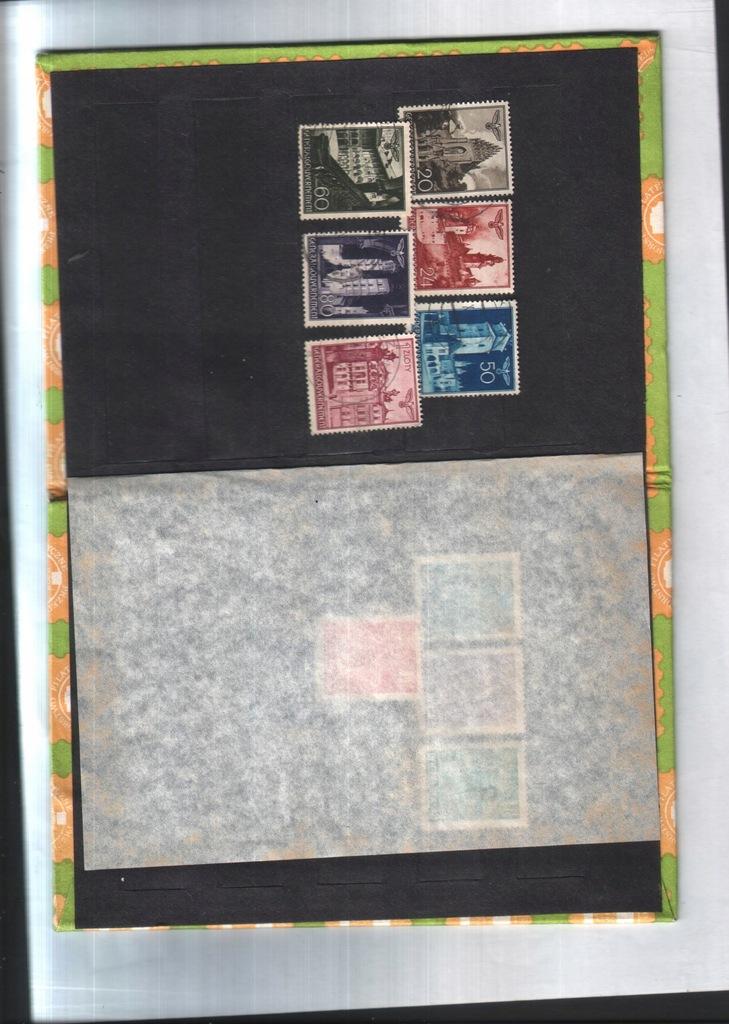 Filatelistyka -1940 - 6 znaczk. Generalnej Guberni