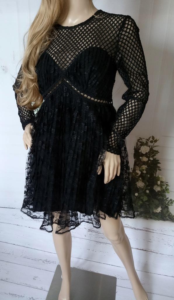 Nowa sukienka New Look L koronka gipura