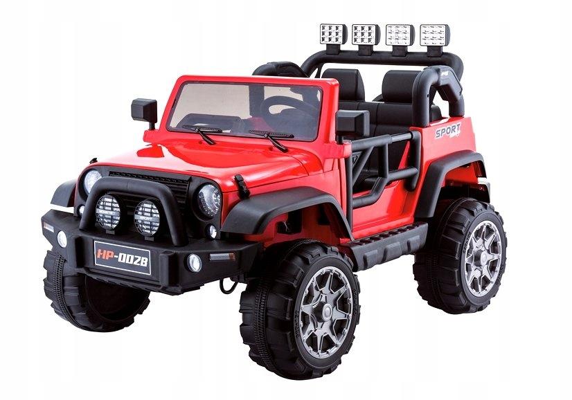 Auto na Akumulator Jeep HP012 Czerwone