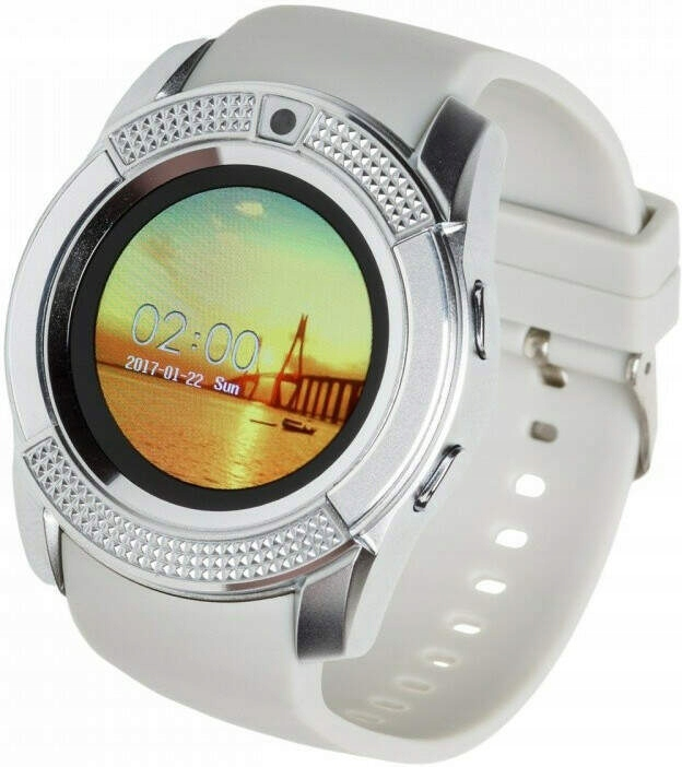 Smartwatch G11 biało-srebrny