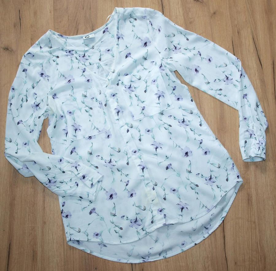 CUBUS śliczna bluzka kwiaty JEDYNA 34