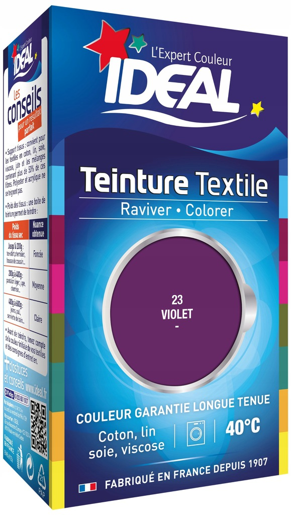 Ideal fioletowy barwnik do tkanin
