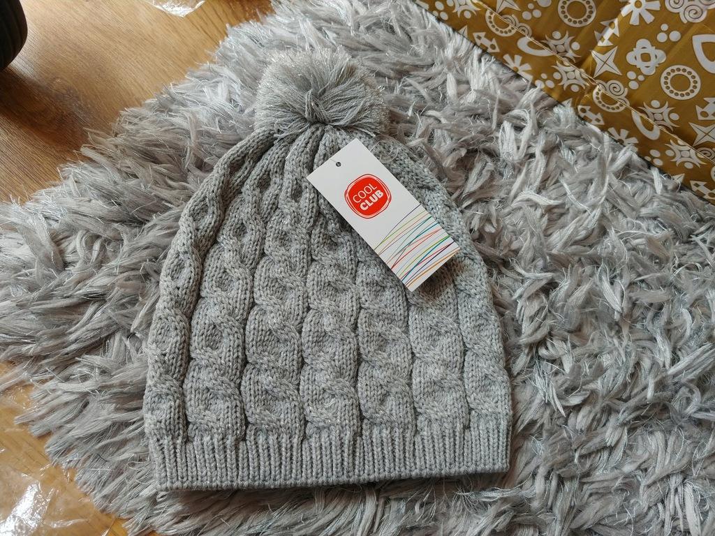Cool club czapka jesień/zima roz.54cm 5-7l nowa