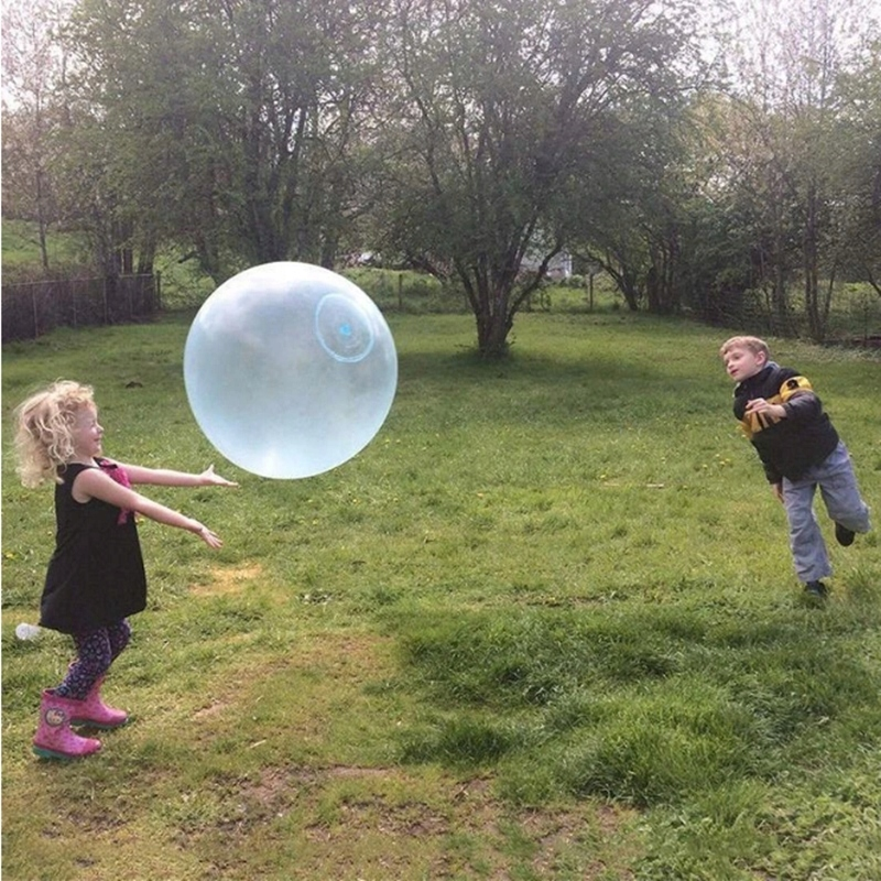 Wubble Bubble Ball Pilka Banka 50cm Gry Duza Hit 9563084781 Oficjalne Archiwum Allegro