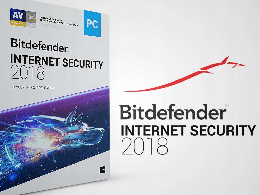Bitdefender Internet Security 2018 5PC/2Y ESD kont