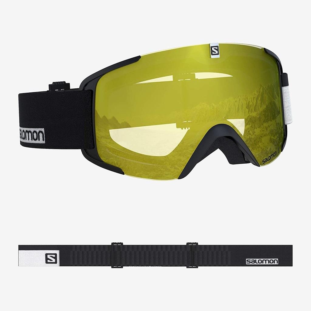 L2F48 Salomon Xview Access gogle narciarskie