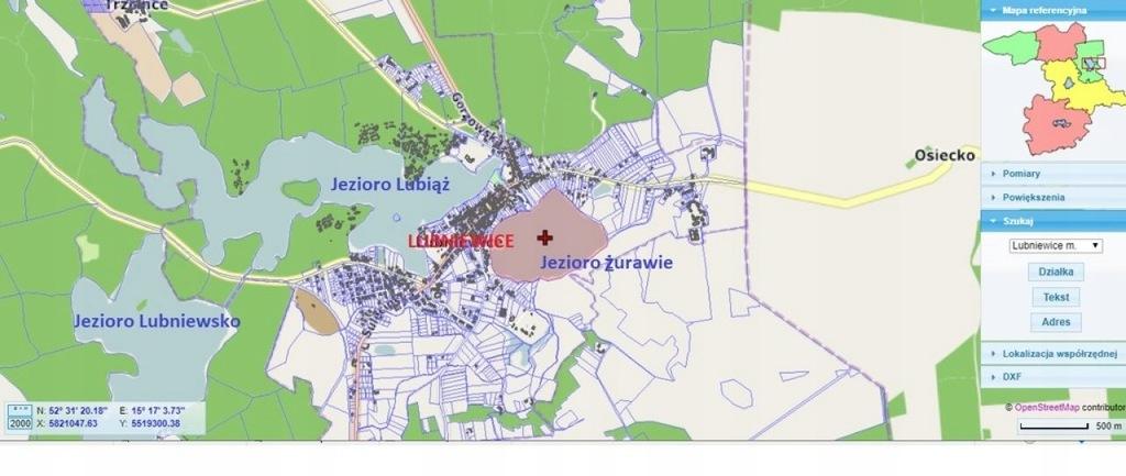 Działka, Lubniewice, Lubniewice (gm.), 1335 m²