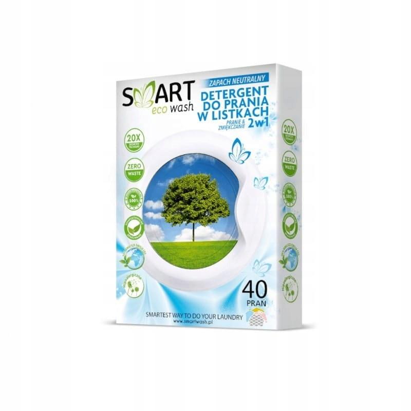 DIZOLVE Biodegradowalne listki do prania i zmiękcz