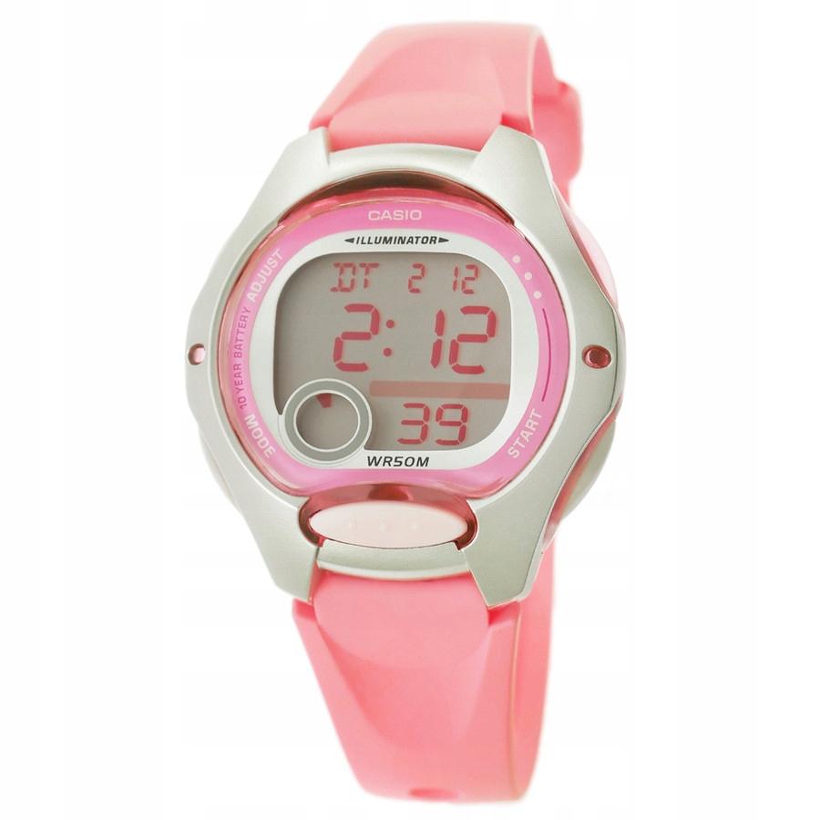 Zegarek Damski CASIO LW-200 LCD Wielofunkcyjny