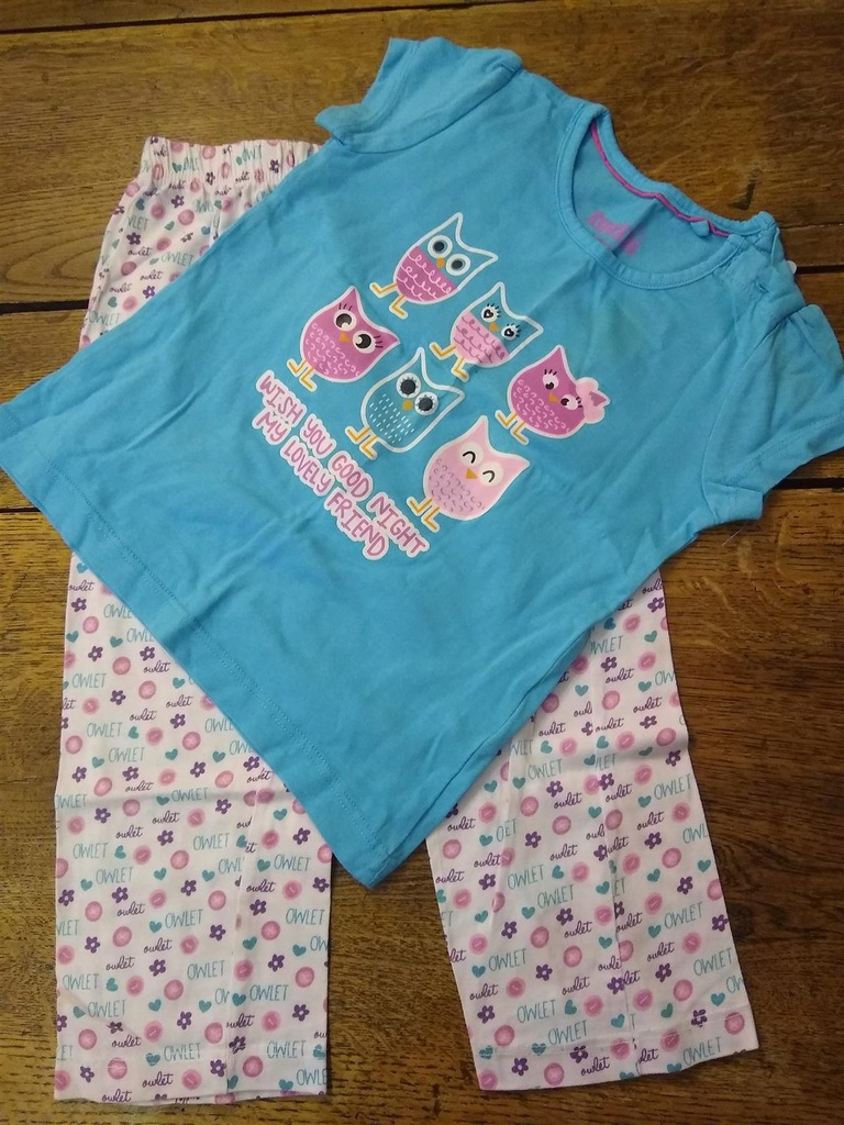 piżama 86-92 18-24 mce