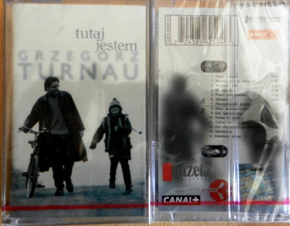 GRZEGORZ TURNAU - TUTAJ JESTEM (kaseta, nowa)