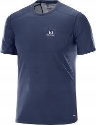 S9295 SALOMON T-SHIRT koszulka sportowa męska R.L