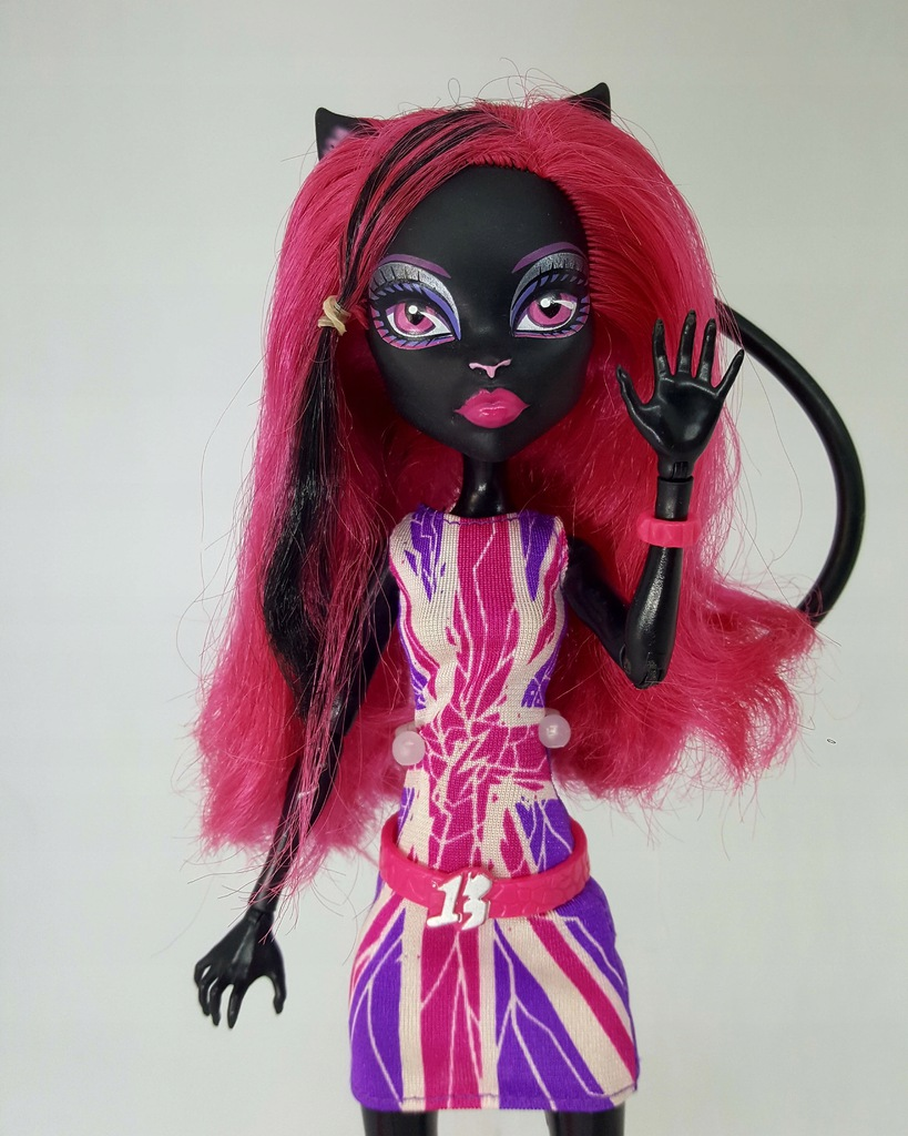 Lalka Catty Noir Ghoulebrities Monster High 8506288349 Oficjalne Archiwum Allegro