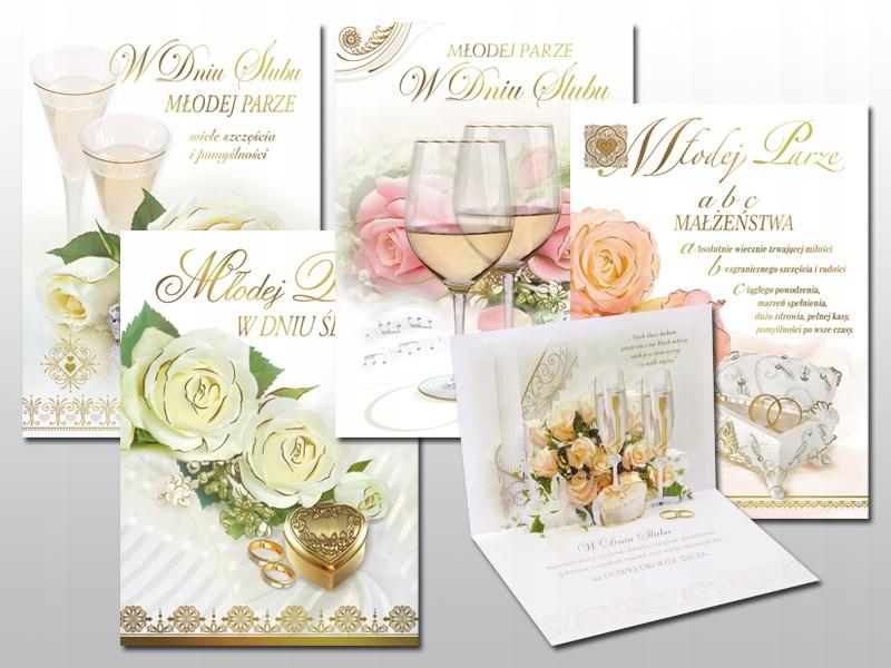 kartka ślubna PAMIĄTKA prezent na ślub