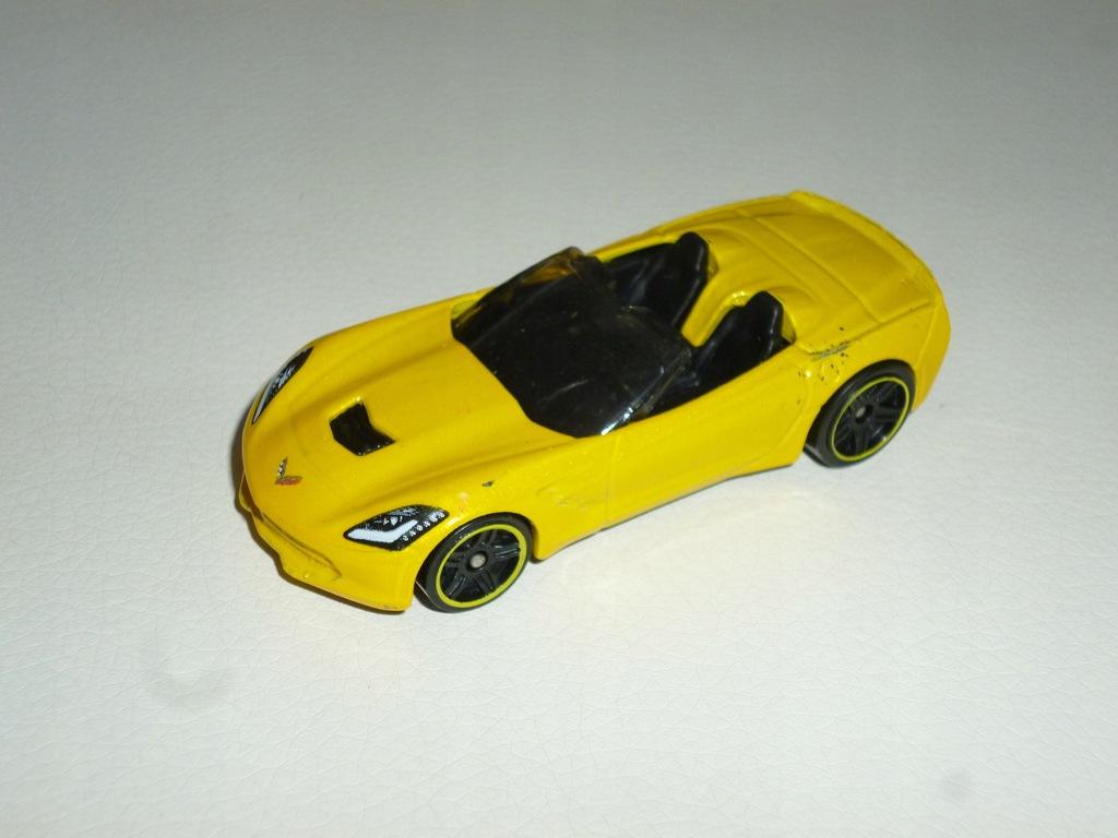 Corvette 2014 Hot Wheels resorak model