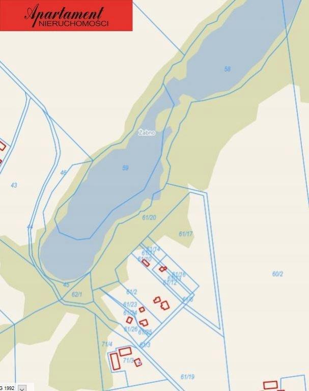 Działka, Więzowno, Koronowo (gm.), 17000 m²