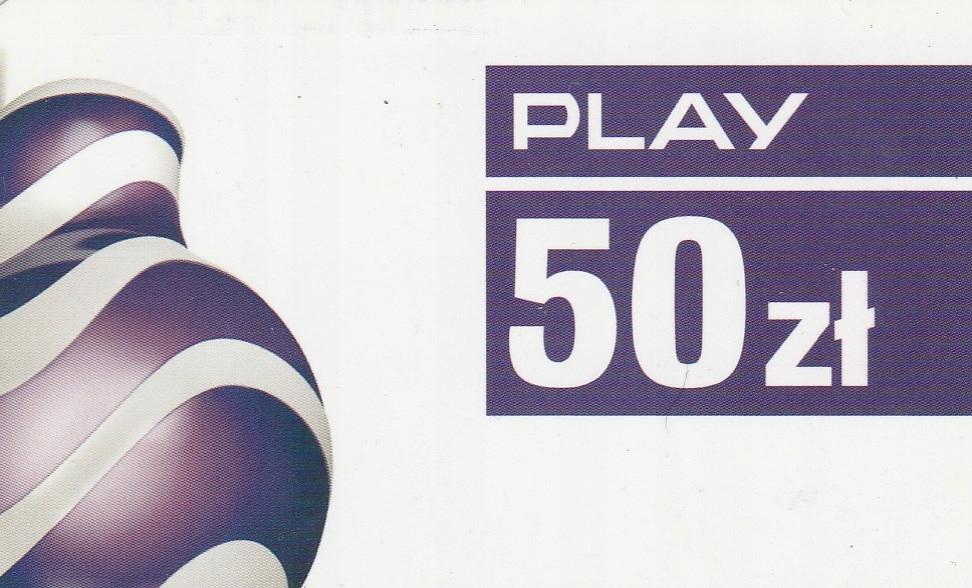 Play 50zł (2018/11/30)