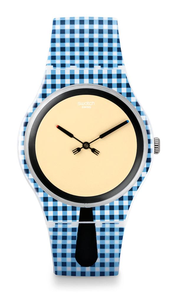 Zegarek Swatch MOITIE-MOITIE SUOW118 New Gent