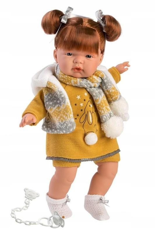 Lalka płacząca Kate złotowłosa 38338 38 cm