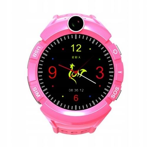 Watch Phone Kids z lokalizatorem GPS/WIFI różowy