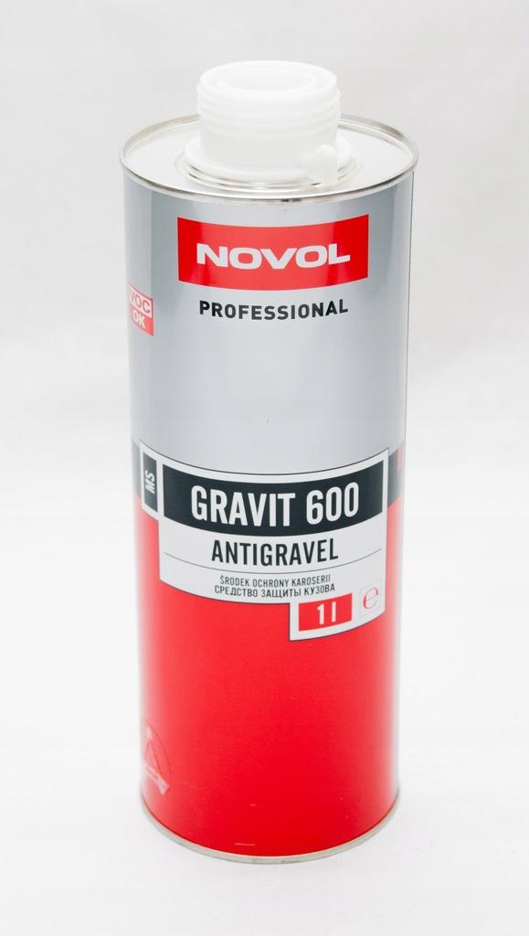 Novol GRAVIT 600-ŚRODEK OCHRONY KAROSERII 1L biały