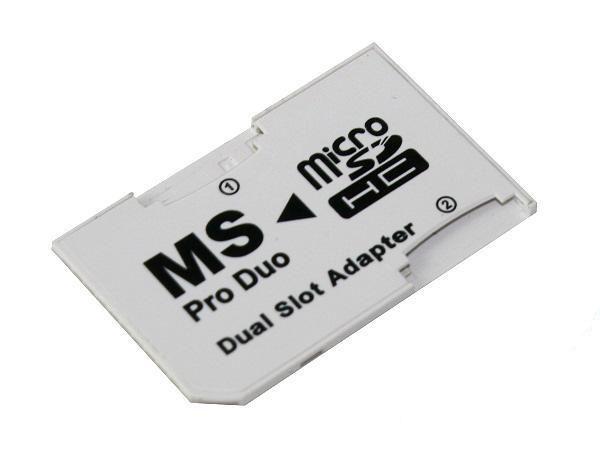AA1317 ADAPTER DUAL MICRO SD/MS PRO DUO TANIO