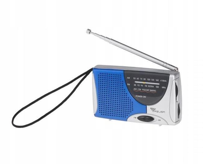 Kieszonkowe radio przenośne AM / FM AZUSA R-2307