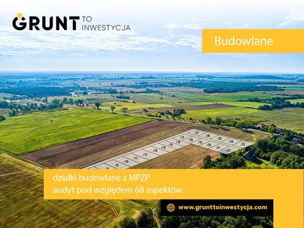Działka Lubin, lubiński, 761,00 m²
