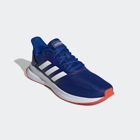 ADIDAS RUNFALCON (EF0150) M?skie   cena 143,99 PLN, kolor NIEBIESKI   Buty do biegania adidas