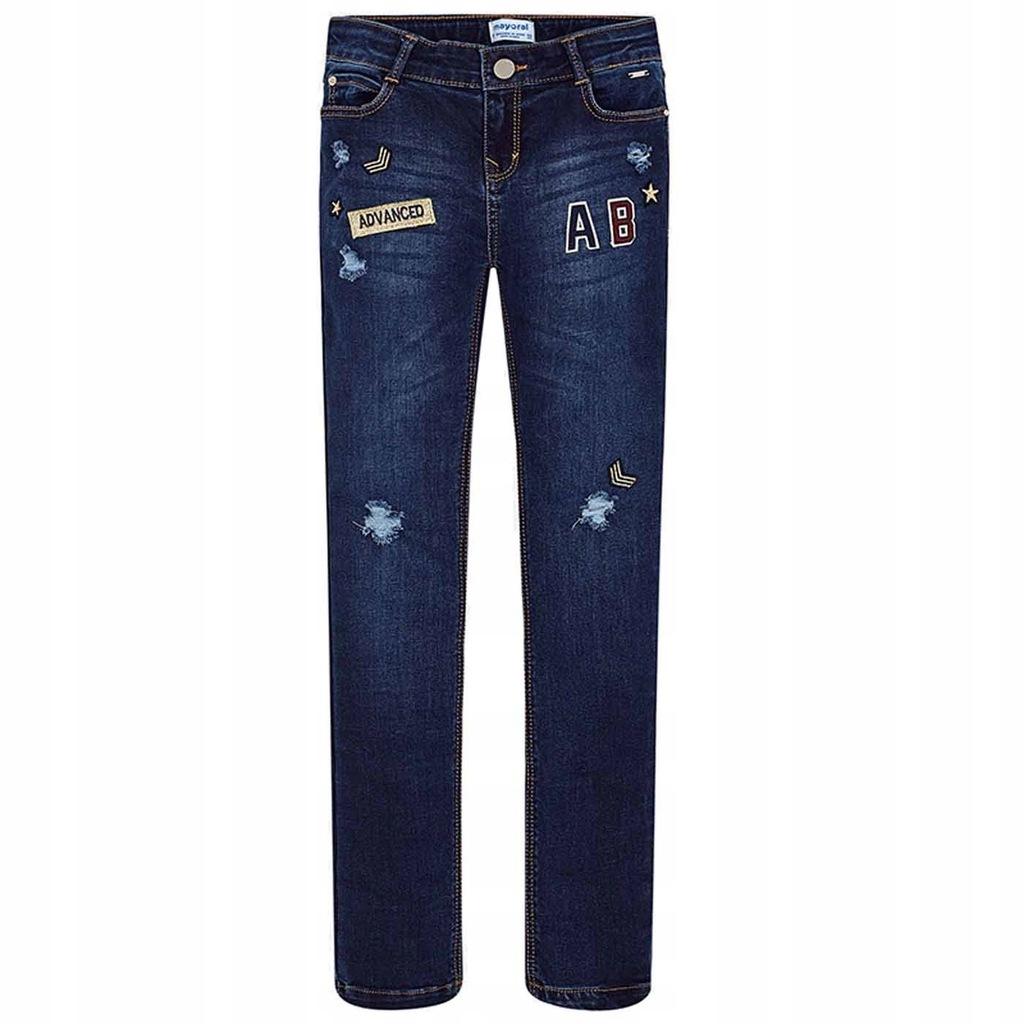 MAYORAL 7538-17 spodnie JEANS r.162/16 SALE