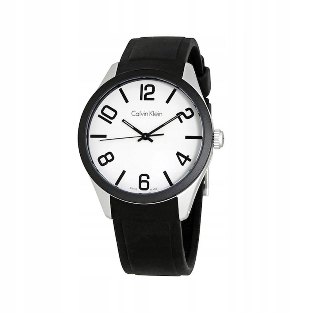 Calvin Klein zegarek unisex czarny