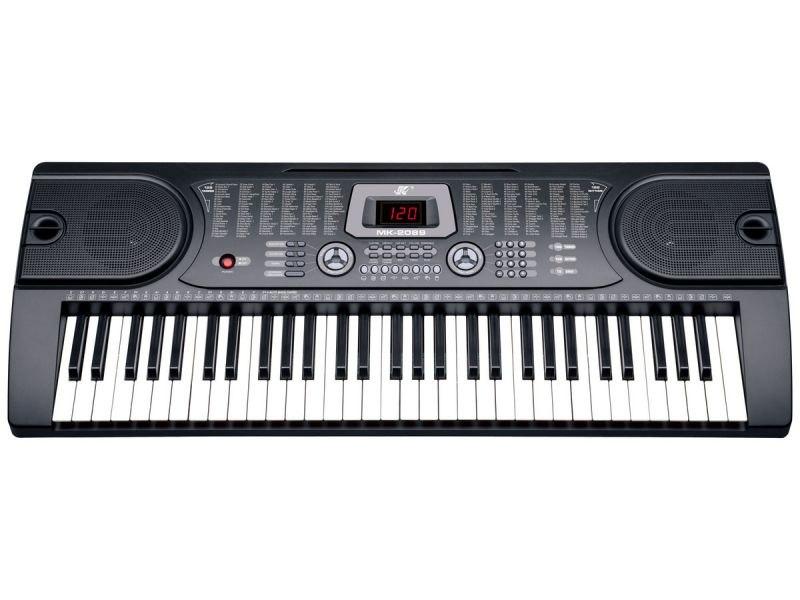 Keyboard Organy 61 Klawiszy Zasilacz MK-2089