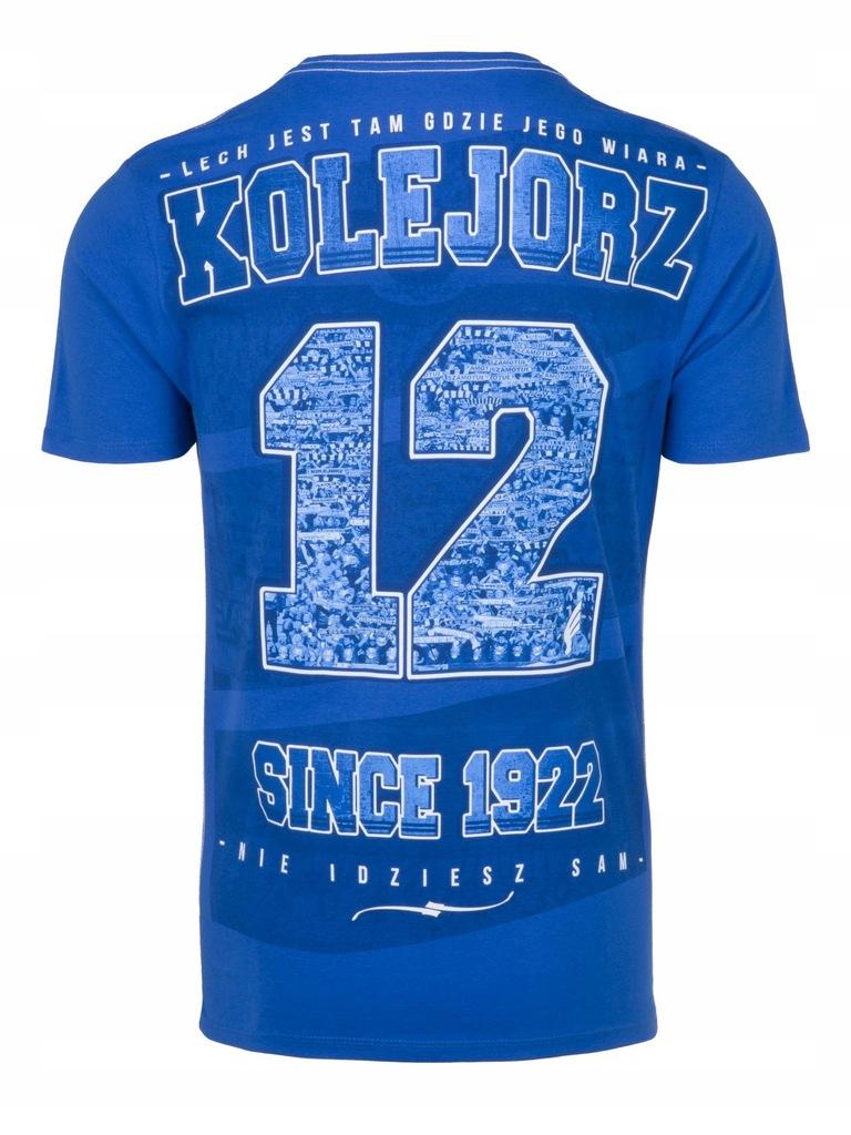 Koszulka Lech Poznan 12 Kibice S 7632581912 Oficjalne Archiwum Allegro