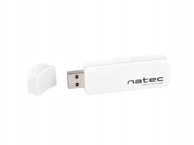 Czytnik kart NATEC Scarab NCZ-0821 (Zewnętrzny; Me