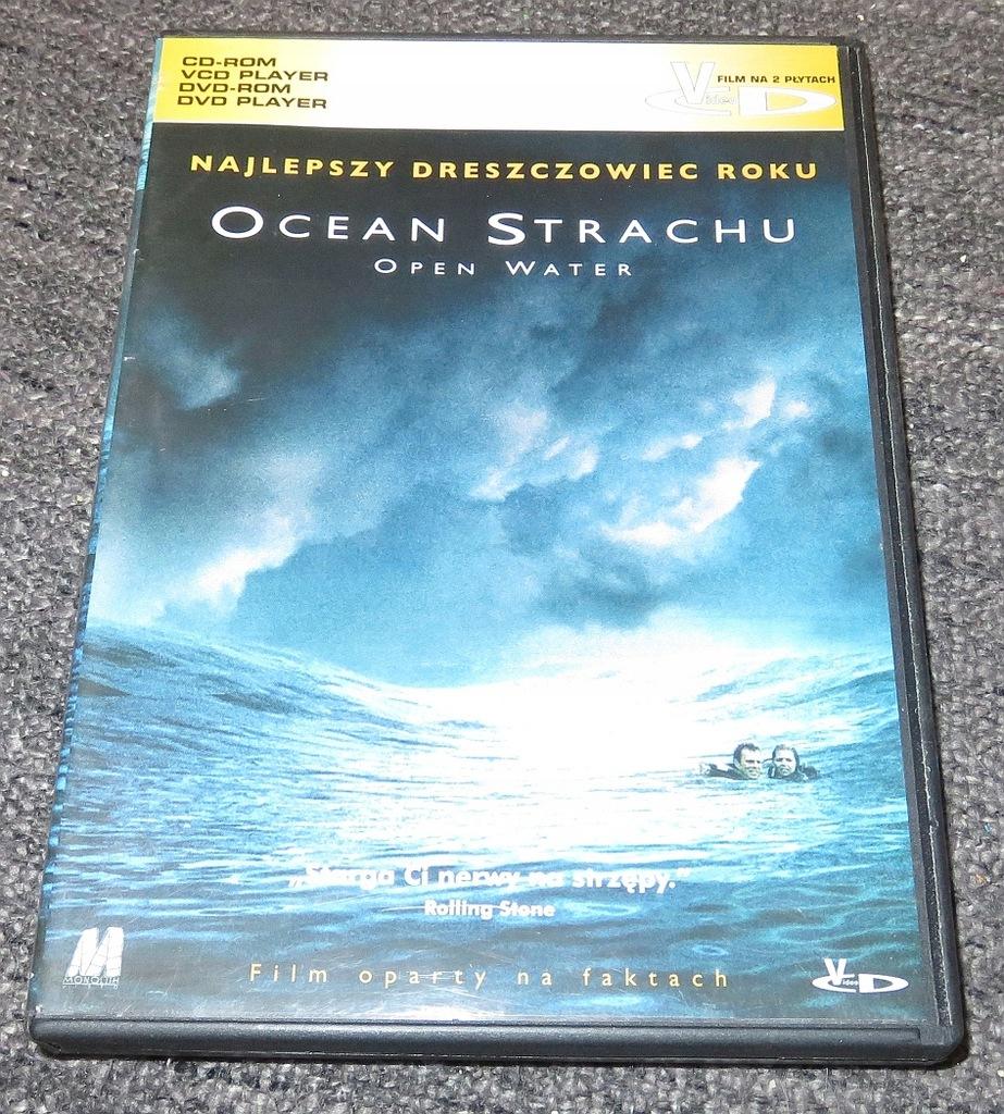 2x VCD : Ocean strachu (2003) Open Water