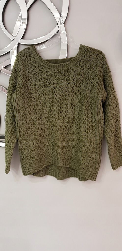 Sweter NEW LOOK rozm. 36/S KHAKI