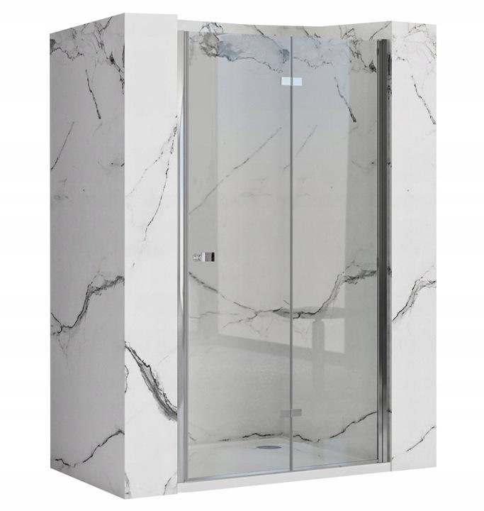 Drzwi Prysznicowe Składane Best 90 cm Easy Clean