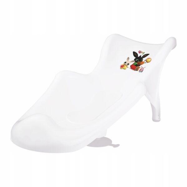 Fotelik do kąpieli LEŻACZEK z matą antypoślizgową