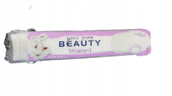 Beauty Original Płatki kosmetyczne 120szt.