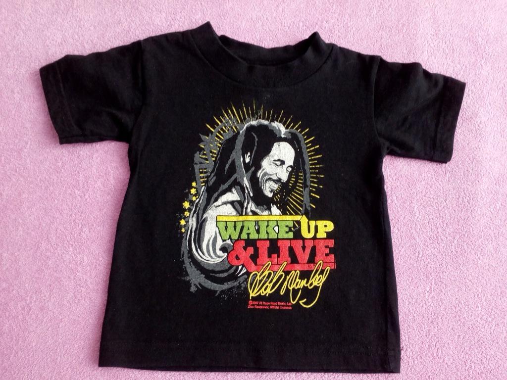 Koszulka t-shirt Bob Marley rock r.80