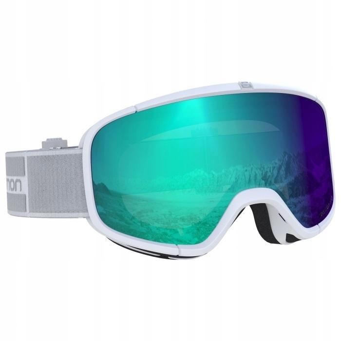 Gogle narciarskie Salomon Four Seven Black Grey S2 2020