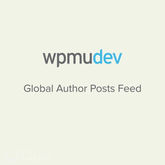 Wtyczka WPMU DEV Global Author Posts Feed