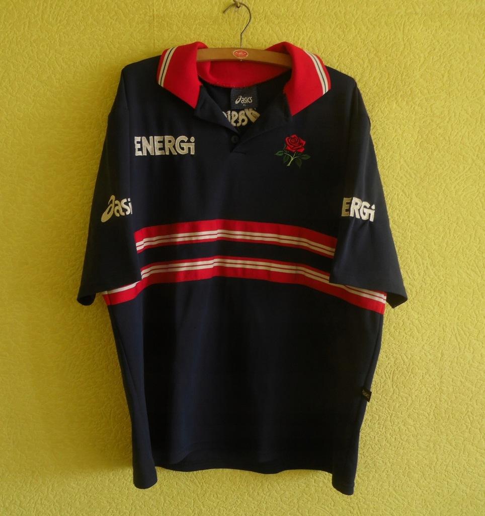 Koszulka Asics England Rugby Retro Vintage XL