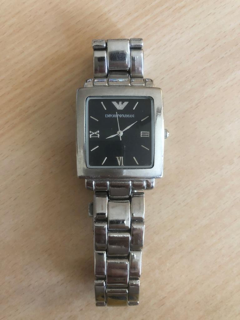 Zegarek Emporio Armani Kolekcjonerski Stalowy