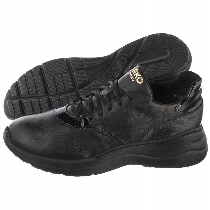 Buty Damskie Sneakersy Ryłko Czarne 1FRI5_D_ _8NI